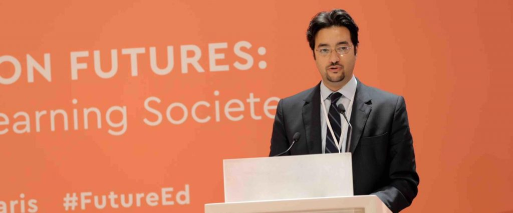 Omran Al-Kuwari, CEO of Qatar Foundation International