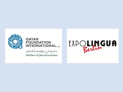 QFI and ExpoLingua Berlin logos